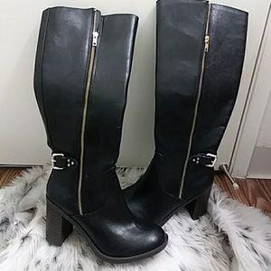 🎆never worn🎆 black knee boots